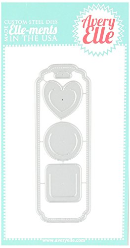 Avery Elle D0403 Elle-Ments Bookmark Dies by Avery Elle