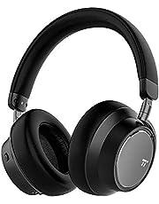 TaoTronics Casque Bluetooth à Réduction de Bruit Active Hybride, Écouteurs Tour-Oreille Rapide Charge 45 Minutes pour 30 Heures d'Autonomie avec Basses Puissantes et Micro pour Voyage PC Smartphone