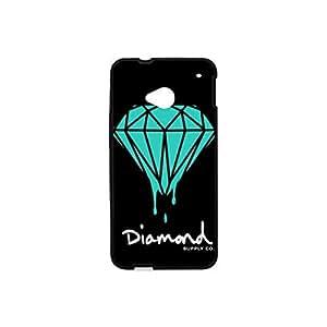 HTC One M7 Diamond Supply Co Plastic and TPU Case