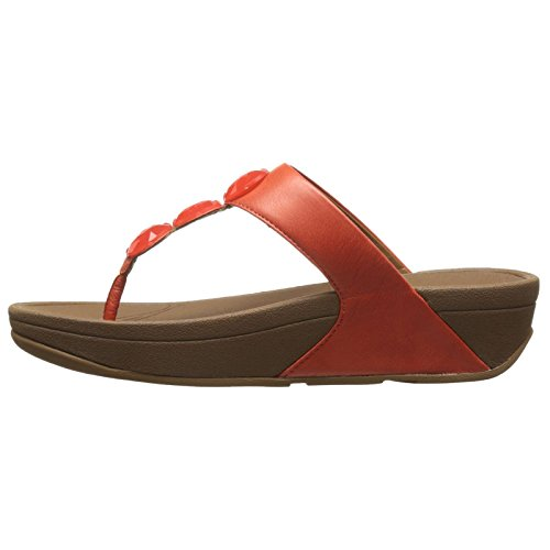 Estaño FitFlop Sandalias Petra Flame Leather