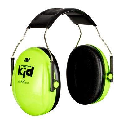 3M Peltor Kid - Orejeras para niños, protectores auditivos para niños a partir de 2