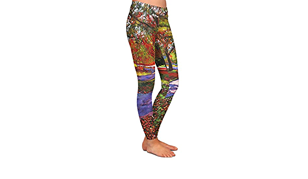 Athletic Yoga Leggings from DiaNoche Designs by David Lloyd Glover Wildflowers