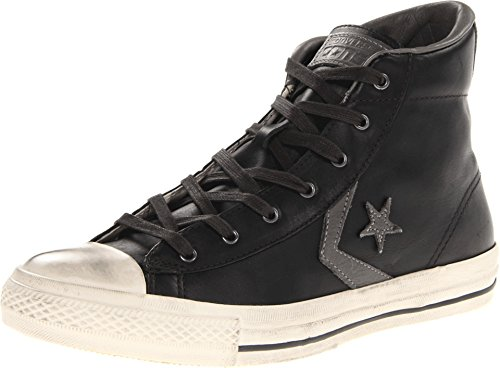 Converse Unisex Star Player (Converse Unisex John Varvatos Star Player EV Black/Charcoal 139734C (9 Men/Women)