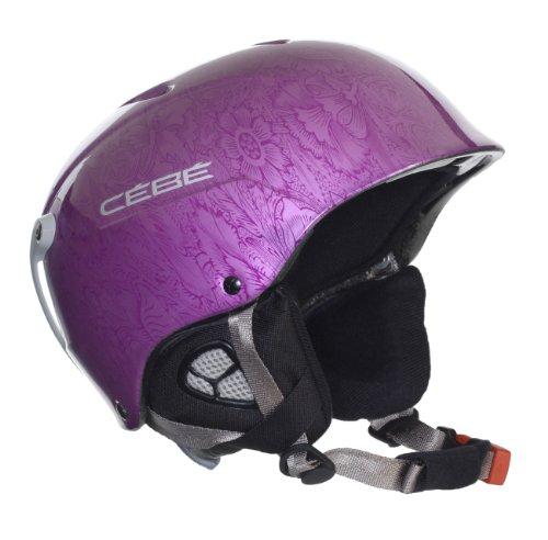 Cebe Contest Uni Skiing Helmet - Purple, - Ski Cebe Helmets
