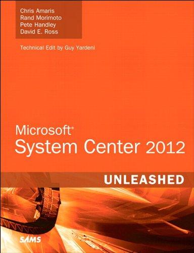 Microsoft System Center 2012 Unleashed Pdf