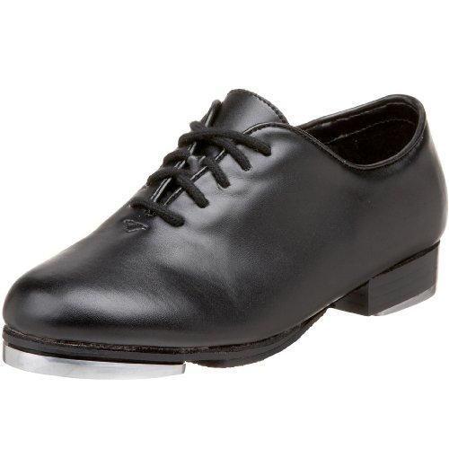 Dance Class PTM100 Jazz Tap Shoe (Toddler/Little Kid),Black,1 M US Little Kid