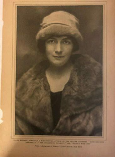 1921 Vintage Magazine Print Song Writer Clare - Songwriter Magazine