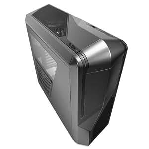 NZXT Phantom 410 Mid Tower USB 3.0 Gaming Case - Gunmetal with Black Trim