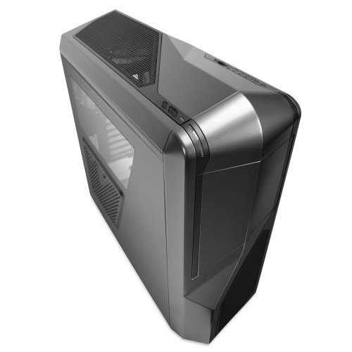 NZXT Phantom 410 Mid Tower Computer Case, Gunmetal with Black Trim (CA-PH410-G1)