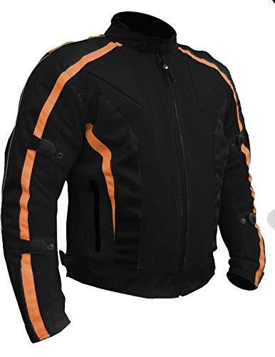 Orange Veste Moto d/ét/é Chicane en Mesh Taille M imperm/éable//renforc/ée EU 48
