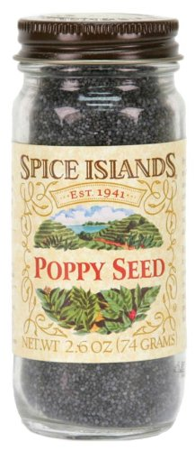 Spice Islands Poppy Seed, 2.6-Ounce (Pack of 3)