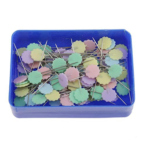 85 Pieces Patchwork Pins Head Pins Quilting Sewing Crafts (Style - #4)
