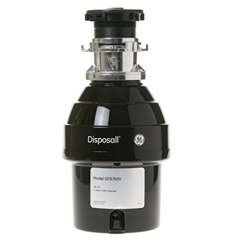 GE GFB760V .75 Horsepower Deluxe Batch Feed Disposal Food Waste Disposer by GE