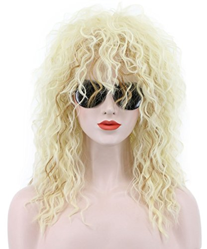 Eighties Wig - Karlery 70s 80s Metal Rocker Wig