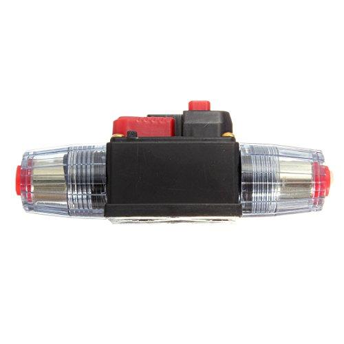 DC 12V/24V/32V Car Stereo Audio Circuit Breaker Inline Fuse Holder (80A) by QUhang (Image #2)