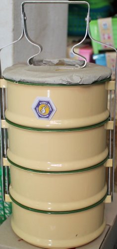 Thai Food Carrier Coats To-go Ware 4 Tier 14cm by Thailand