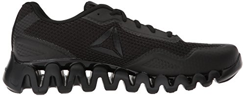Men's black Pulse Black Zig Reebok Running Shoe dpadHU