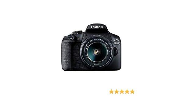 Canon EOS 2000D(1500D) - Cámara réflex de 24.1 MP (CMOS, Escena ...