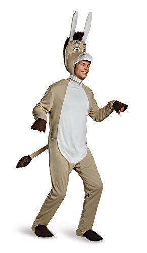 Disguise Men's Plus Size Shrek Donkey Deluxe Costume, Grey, XX-Large