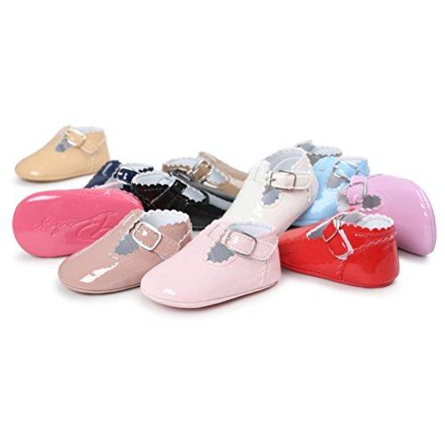Baby Braun beiläufige weiche Schuhe Schuhe alleinige ❆Huhu833 Turnschuh Kleinkind Mode Schuh Leater Kinder Prinzessin TfqEOaxwB
