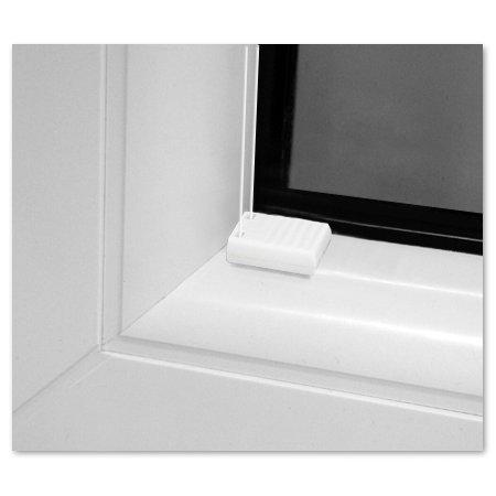 SUNLUX24 SUNLUX24 SUNLUX24 Plissee Cosimo auf Maß   Stoff  Weiß(PLB063)   Systemfarbe  Weiß   Montage  Im Glasfalz  Breite 90,1 bis 100cm x Höhe 170,1 bis 180cm B01MXYJP4D Plissees 44e548