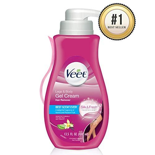 Veet Gel Hair Removal Cream Sensitive, Veet Hair Remover, 13.5 Oun