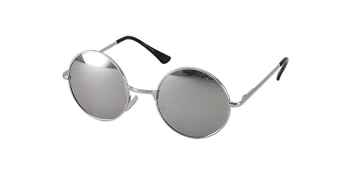 Image Unavailable. Image not available for. Color  Sunglasses bifocal Silver  Mirror Round ... 141eee1c24