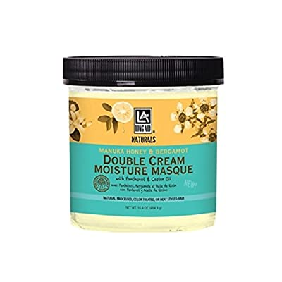 Long Aid Naturals Double Creme Moisture Masque, 16.39 Ounce