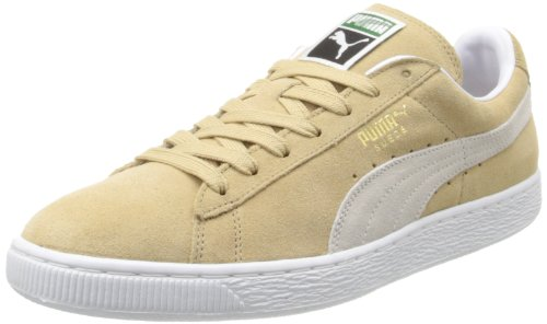 PUMA Adult Suede Classic Shoe Curds Whey/White