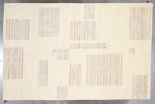 5.8x7.8 Tibetan Leaf Design Rug