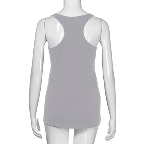 para Camisa Embarazo de Camiseta sin Cami Tank Maternidad Maternidad Mujer Impreso Mujer Tops AmphiaCarta Verano de Mangas YUdUazx