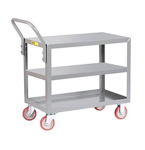 Little-Giant-3LGL-2436-UPS-Welded-Service-Cart-24-x-36-Gray