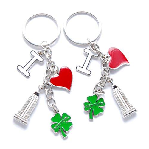 new-york-nyc-ny-keychain-metal-i-love-ny-heart-shaped-empire-state-building-clover-nyc-souvenir-key-