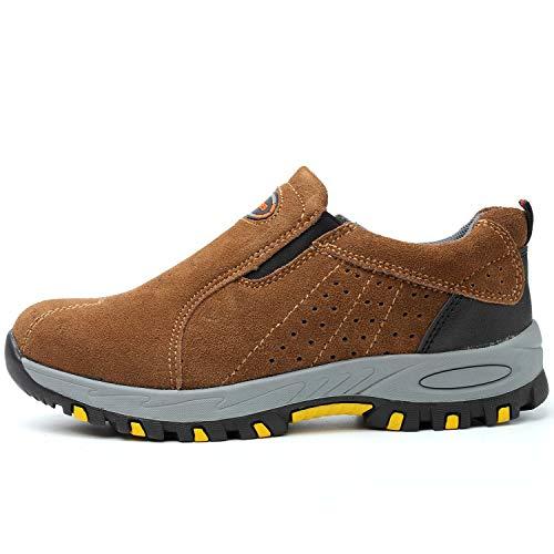 Hopital Securite Travail Respirante Legere Chaussure Homme De Basket 119brown Securité Coou qxzwaXq