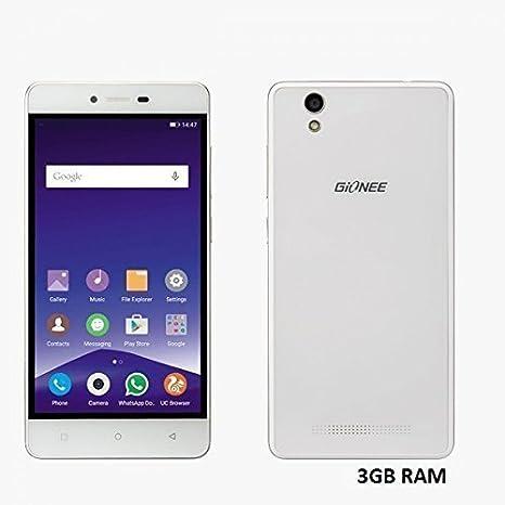Gionee F103  White, 3 GB RAM, 16 GB  Smartphones