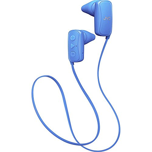 JVC In-Ear Headphone, Bluetooth, Gumy - Blue (Bluetooth Jvc Headphone)