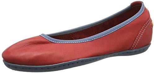 Softinos Odelia Smooth - Bailarinas Mujer Rojo (red 525)