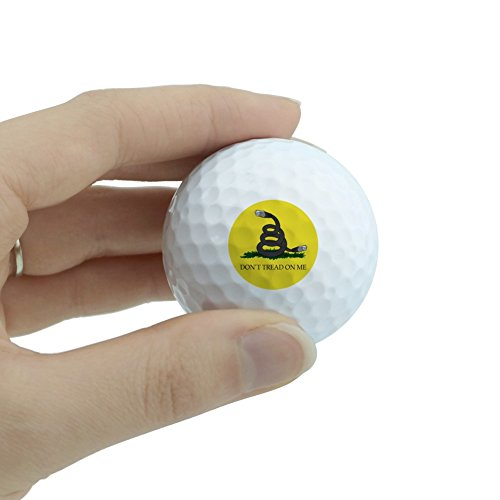 Net Neutrality Don't Tread on Me Novelty Golf Balls 3 Pack by Graphics and More (Image #1)