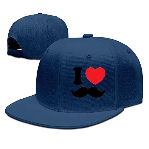 Hfs43fds Mens & Womens I Love Beard Classic Travel Navy Caps Adjustable - Classic Cap Bmw