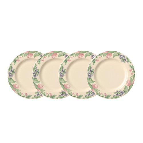 Pfaltzgraff Garden Party Dinner Plate (10-1/2-Inch, Set of 4)