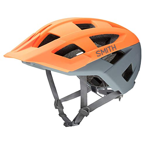 Helmet Matte Charcoal - Smith Optics 2019 Venture Adult MTB Cycling Helmet - Matte Heat/Charcoal/Large