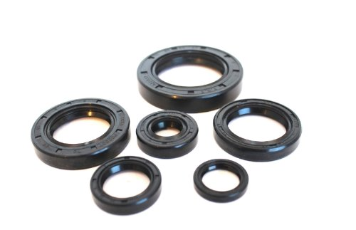 Bottom End Bearings (Boss Bearing Complete Bottom End Engine Seals Kit Honda CR480R 1982 1983 Crank)