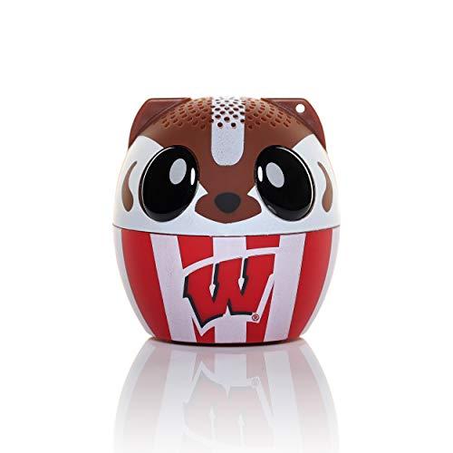 (NCAA Bitty Boomer Wireless Bluetooth Speaker, Wisconsin Badgers)