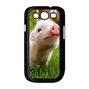 Little Pig Phone Case For Samsung Galaxy S3 i9300 [Pattern-1] by supermalls