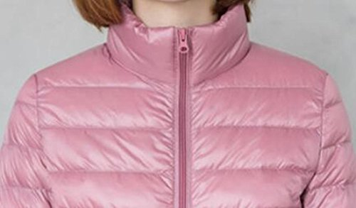 Down Long UK Short Jacket 5 Womens today Sleeve Stand Puffer Collar FxHIq8