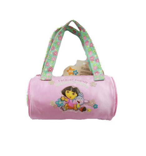 - Dora the Explorer Hand Bag Purse Forever Friends Pink Flower