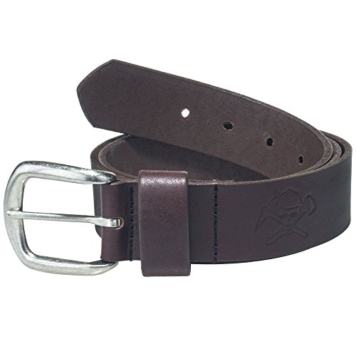 Working Person's 18222 1.5inch Full Grain Brown Leather Belt - Made In The USA - Brown Usa