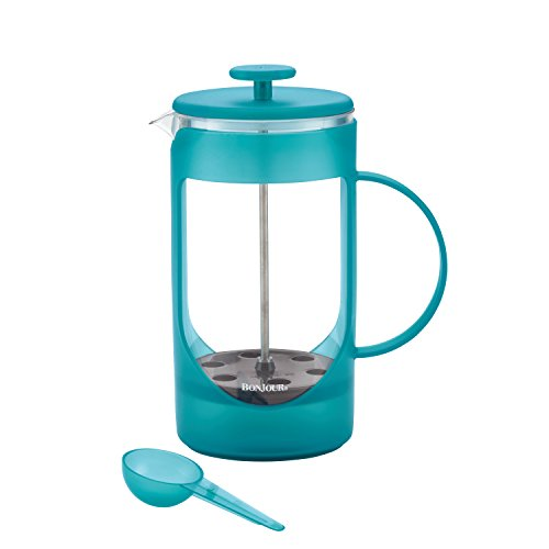 8 Cup Unbreakable French Press - 8 Cup/33.8-Oz. Ami-Matin French Press, Blue