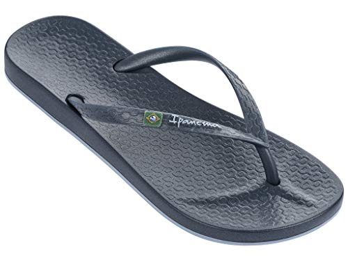 Ipanema Brilliant Women's Flip Flops, Blue/Blue Metallic (5 US)