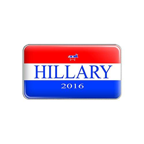 Hillary 2016 Democrat Logo Hillary Clinton for President Metal Lapel Hat Pin Tie Tack Pinback